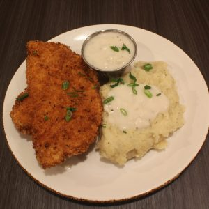 Chicken fried chicken Texas forever cafe & Grill